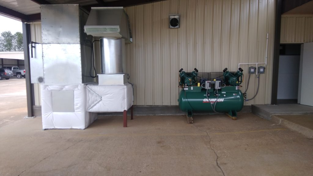 compressor and air handler